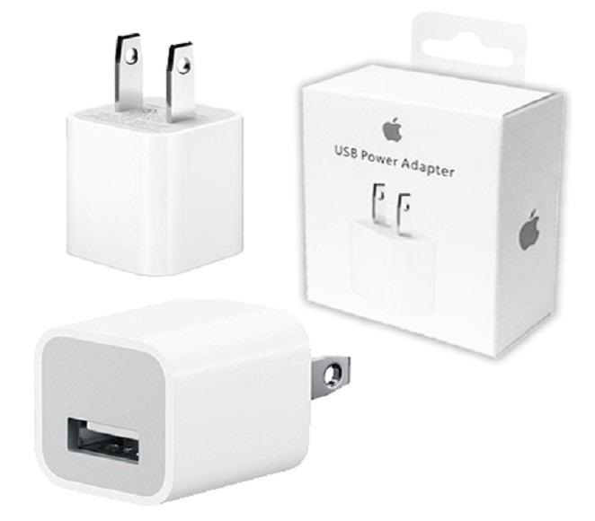 HOME ADAPTER IOS WHITE APPLE ORIGINAL