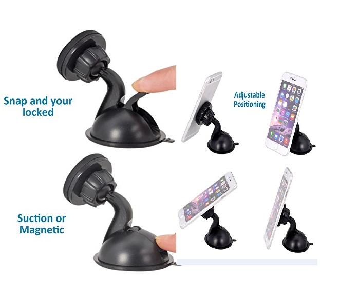 CAR PHONE HOLDER UNIVERSAL MAGNET WITH QUICK SNAP