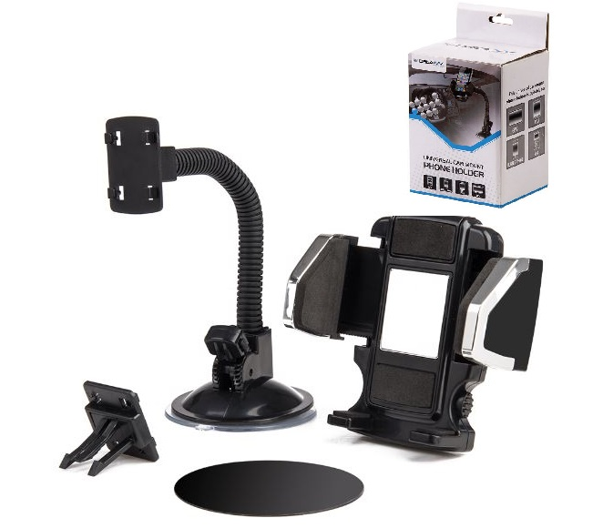 CAR PHONE HOLDER HOCU-1 (BLACK)