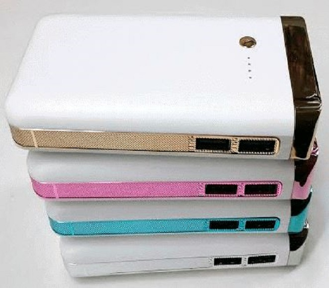 POWER BANK NOVASONIC 12000mAh (WHITE+BLUE, SILVER+WHITE)