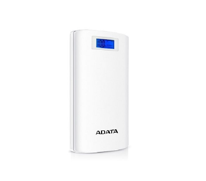 POWER BANK ADATA P20000D WHITE