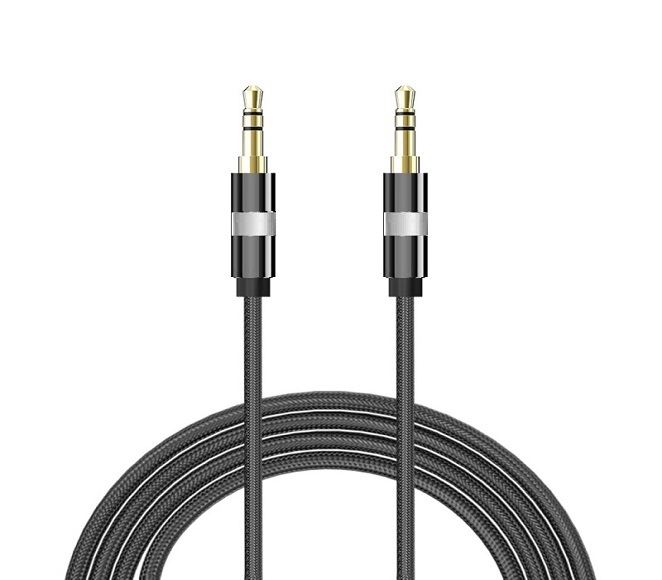 AUXILIARY CABLE 6FT (BLACK)