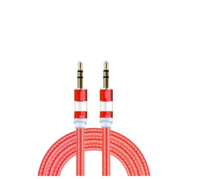 AUXILIARY CABLE 6FT (RED)