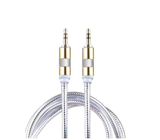 AUXILIARY CABLE 10FT (SILVER)