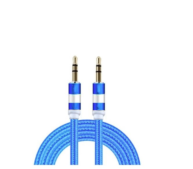 AUXILIARY CABLE 6FT (BLUE)