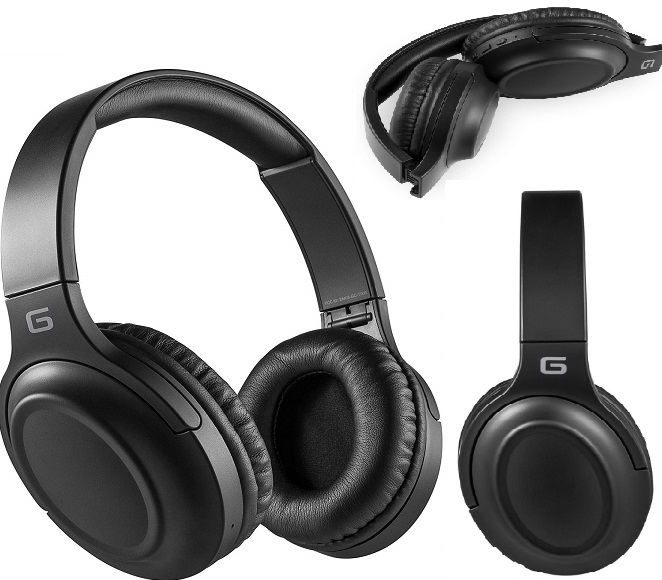 BLUETOOTH HEADPHONES GC-T006 BLACK